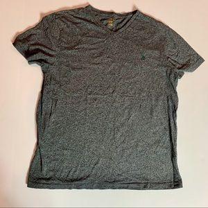 Ralph Lauren POLO Gray V-neck t-shirt